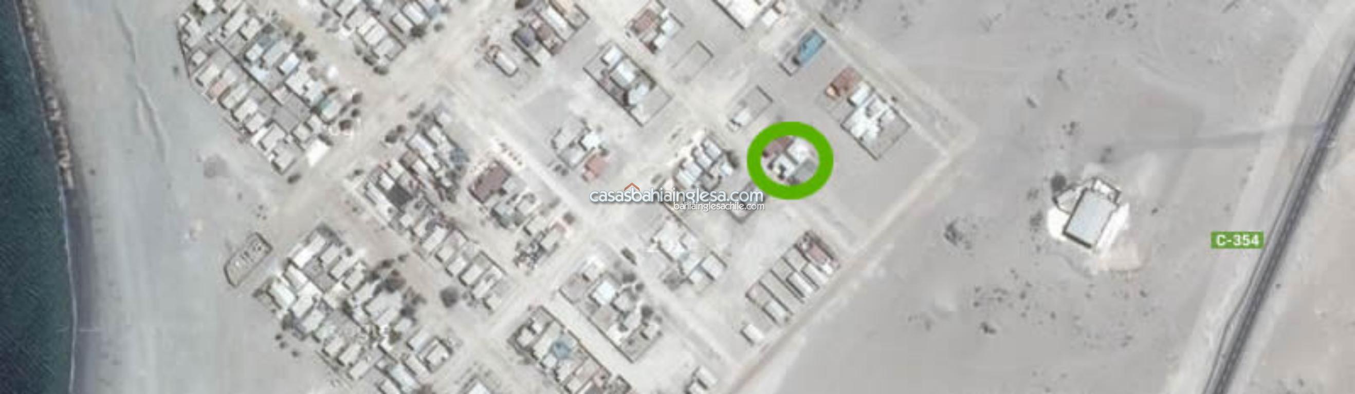 Mapa casa 06 Bahía Loreto